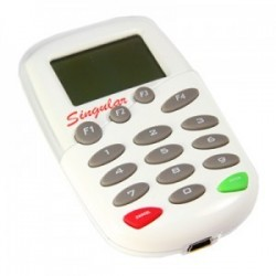 mini USB interf, pin pad POS, with IC  & magcard reader, with LCD