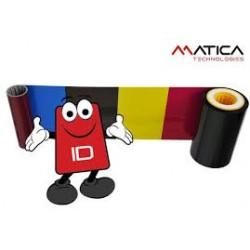 Matica DIC10509 SRT YMCK Color Ribbon - 1000 Images - XID 8100