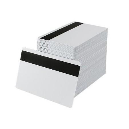 Contactless card ISO14443A 1k FUDAN bianche con banda magnetica HiCo (50 pezzi)