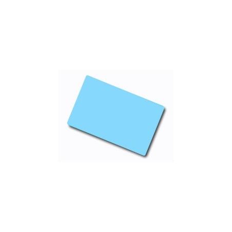 CDC035-0020 Carte colorate fondo lucido AZZURRO 760 Micron (confezione da 100 pz.)