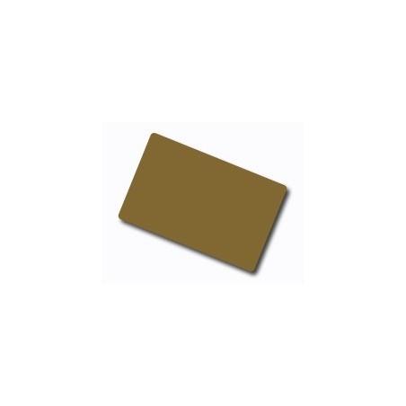 CDC035-0027 Carte colorate fondo lucido ORO glitter scuro 760 Micron (confezione da 100 pz.)
