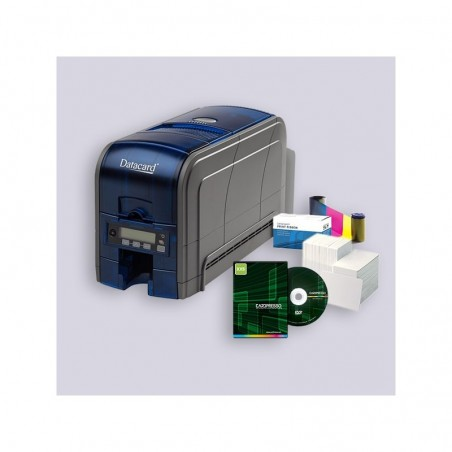 Starter Kit Datacard SD160 USB with 2 ribbon, 100 card and software included