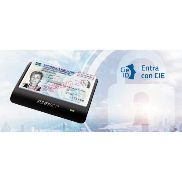 RFID CONTACTLESS reader for the Carta d'Identità Elettronica (CIE)