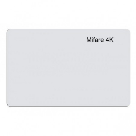 Contactless card Mifare 4K Bianche