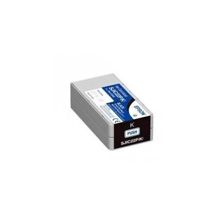 EPSON Ink Cartridge Epson C33S020601 SJIC22P/K Black