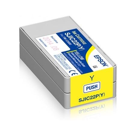 Cartuccia Inchiostro Epson C33S020604 SJIC22P/Y Giallo